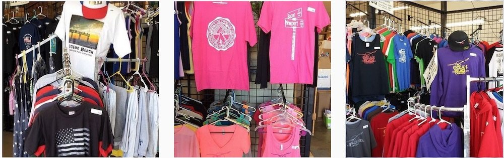james gang printing, custom shirts, screen printing, san diego